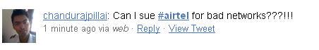 Airtel angry customer